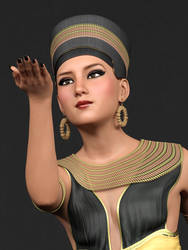 Egyptian Queen by jacquesg1971