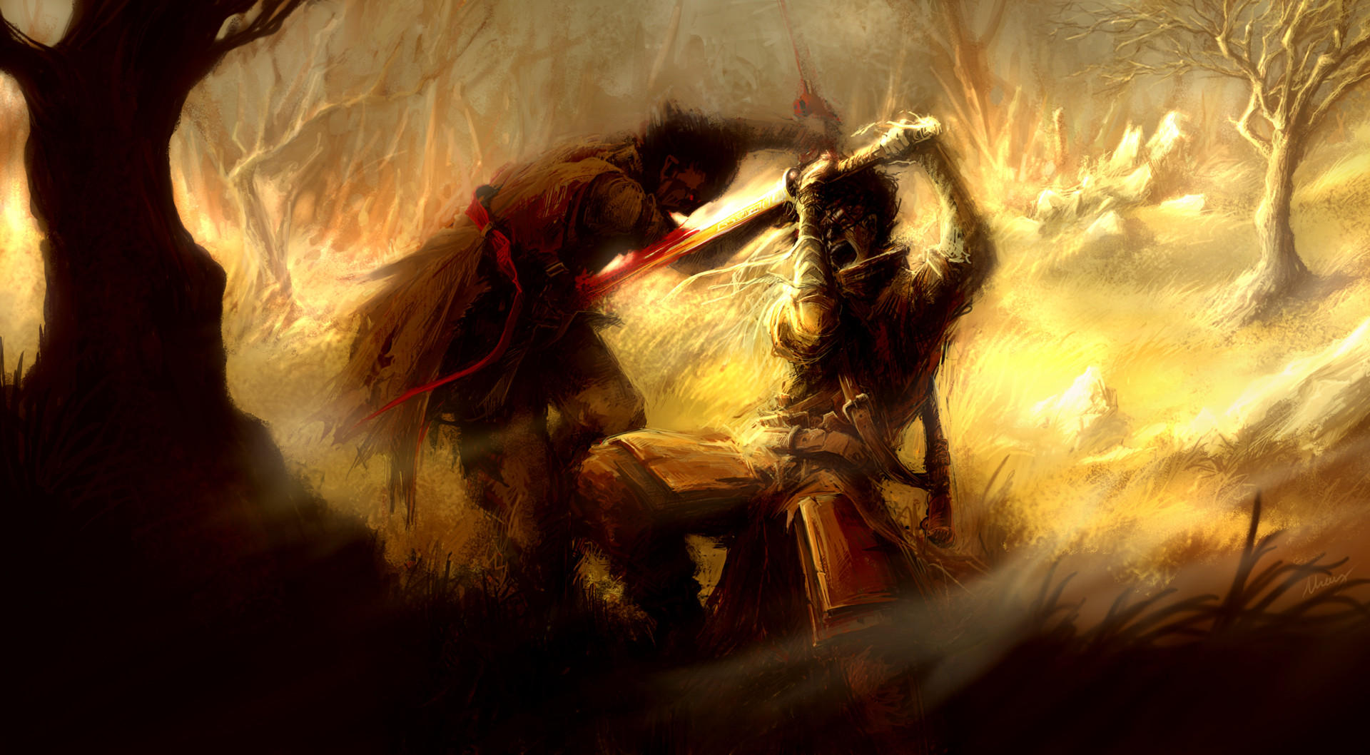 Fight by Mzag