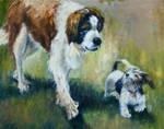 Good Friends by Wulff-Arts