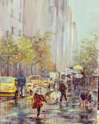 RAINY NYC by Wulff-Arts