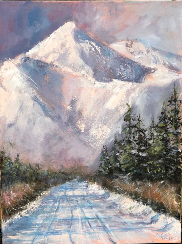 ALASKAN MOUNTAINS by Wulff-Arts