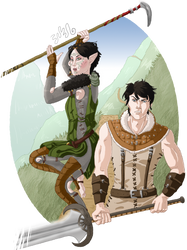 DA2 - Merrill and Carver by SweetSnail