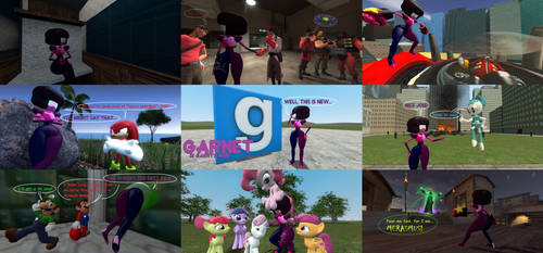 Garnet in GMod by BlackRobtheRuthless