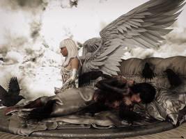 The guardian angel by Chanteur-de-Vent