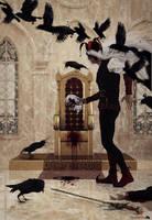 The crow jester by Chanteur-de-Vent