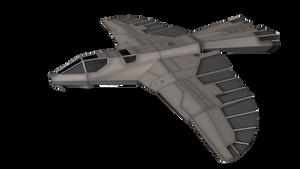 Buck Rogers Warhawk 01 by peterhirschberg