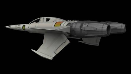 Buck Rogers Starfighter 07 by peterhirschberg