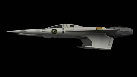 Buck Rogers Starfighter 05 by peterhirschberg
