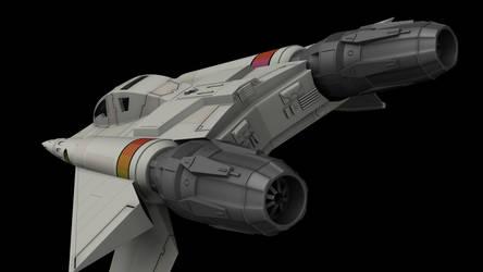 Buck Rogers Starfighter 04 by peterhirschberg
