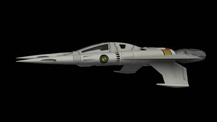 Buck Rogers Starfighter 02 by peterhirschberg