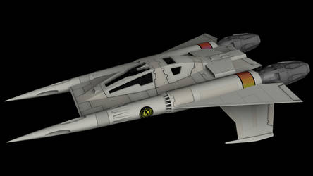 Buck Rogers Starfighter 01 by peterhirschberg