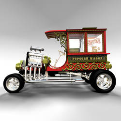 Popcorn Wagon 05 by peterhirschberg
