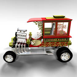 Popcorn Wagon 02 by peterhirschberg