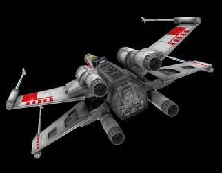 X-Wing 05 by peterhirschberg