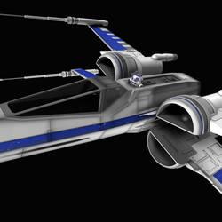 New X-Wing 05 by peterhirschberg