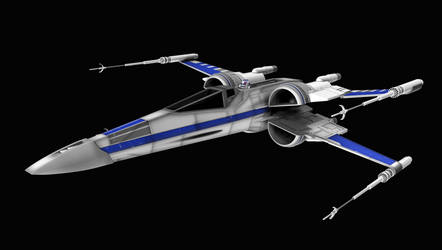 New X-Wing 01 by peterhirschberg