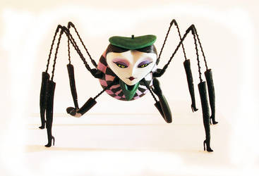 Miss Spider by Brundelfly