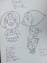 Crystal Villagers design concept:Pearl by Sabretooth-Fox