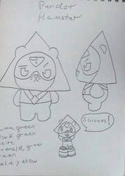 Crystal Villagers design concept: Peridot  by Sabretooth-Fox