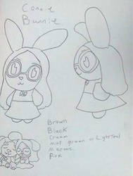 Crystal Villagers design concept : Connie  by Sabretooth-Fox