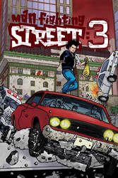 Man Fighting Street 3_Cover by Ralphious