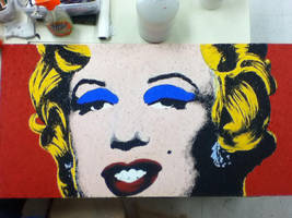 Marilyn Monroe by famedcreation
