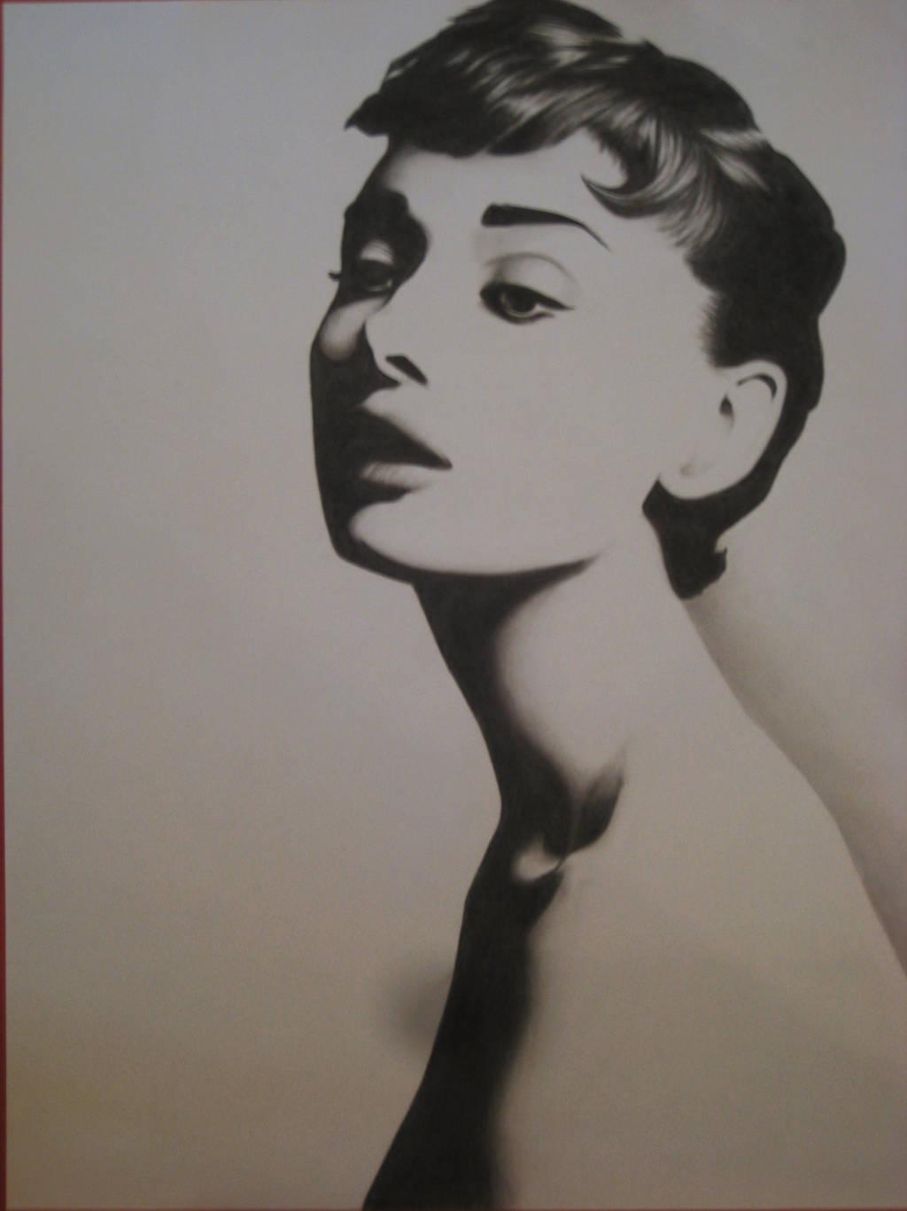 Audrey Hepburn by famedcreation