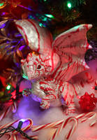 Pretty Peppermint Dragon by The-SixthLeafClover