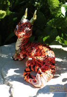 Bengal Tiger Spirit Dragon by The-SixthLeafClover
