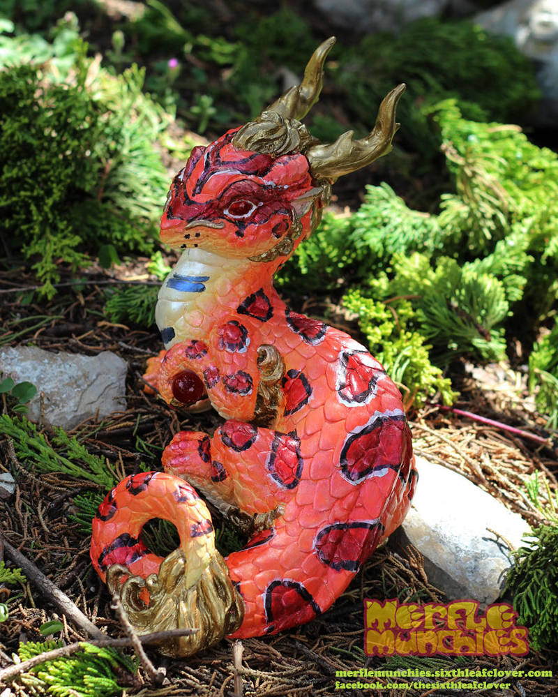Corn snake dragon by The-SixthLeafClover