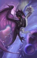 Zodiac Dragon . Gemini by The-SixthLeafClover