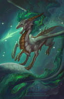 Zodiac Dragon . Sagittarius by The-SixthLeafClover