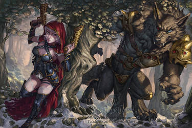 Red Riding Hood by The-SixthLeafClover