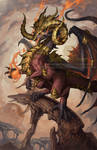 2015 Zodiac Dragons Aries by The-SixthLeafClover