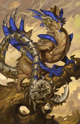 2015 Zodiac Dragons Scorpio by The-SixthLeafClover
