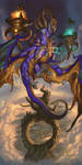 2016 Zodiac Dragons Libra by The-SixthLeafClover