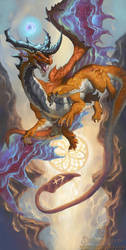 2016 Zodiac Dragons Sagittarius by The-SixthLeafClover