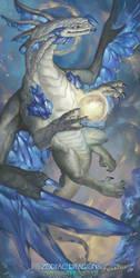 2017 Zodiac Dragons Calendar - Virgo Dragon by The-SixthLeafClover