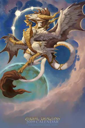 2019 Zodiac Dragon Virgo by The-SixthLeafClover