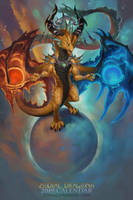 2019 Zodiac Dragon Libra by The-SixthLeafClover