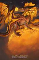 2019 Zodiac Dragon Leo by The-SixthLeafClover