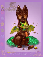 Easters unique chocolate by The-SixthLeafClover