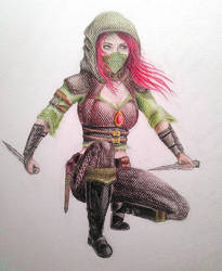Female Rogue by christie174