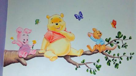 Winnie the Pooh by christie174