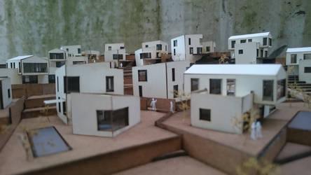 hilly housing by KATharinaAnnaThomas