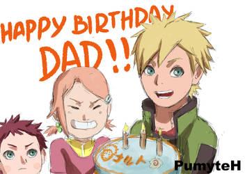 Happy Bday Naruto by PumiiH