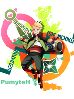 Happy birthday Shinachiku! by PumiiH