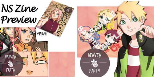 NaruSaku fanzine preview! by PumiiH
