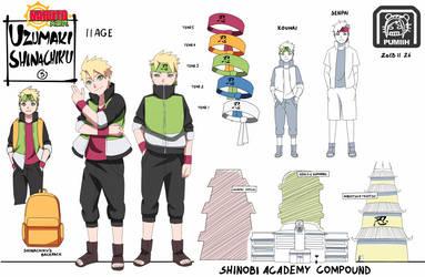 Naruto Hisedai: Ninja Academy 1 by PumiiH
