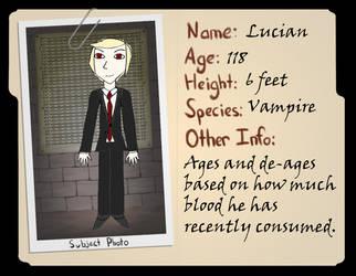 The Devil's Manor App: Lucian by KeplerNova